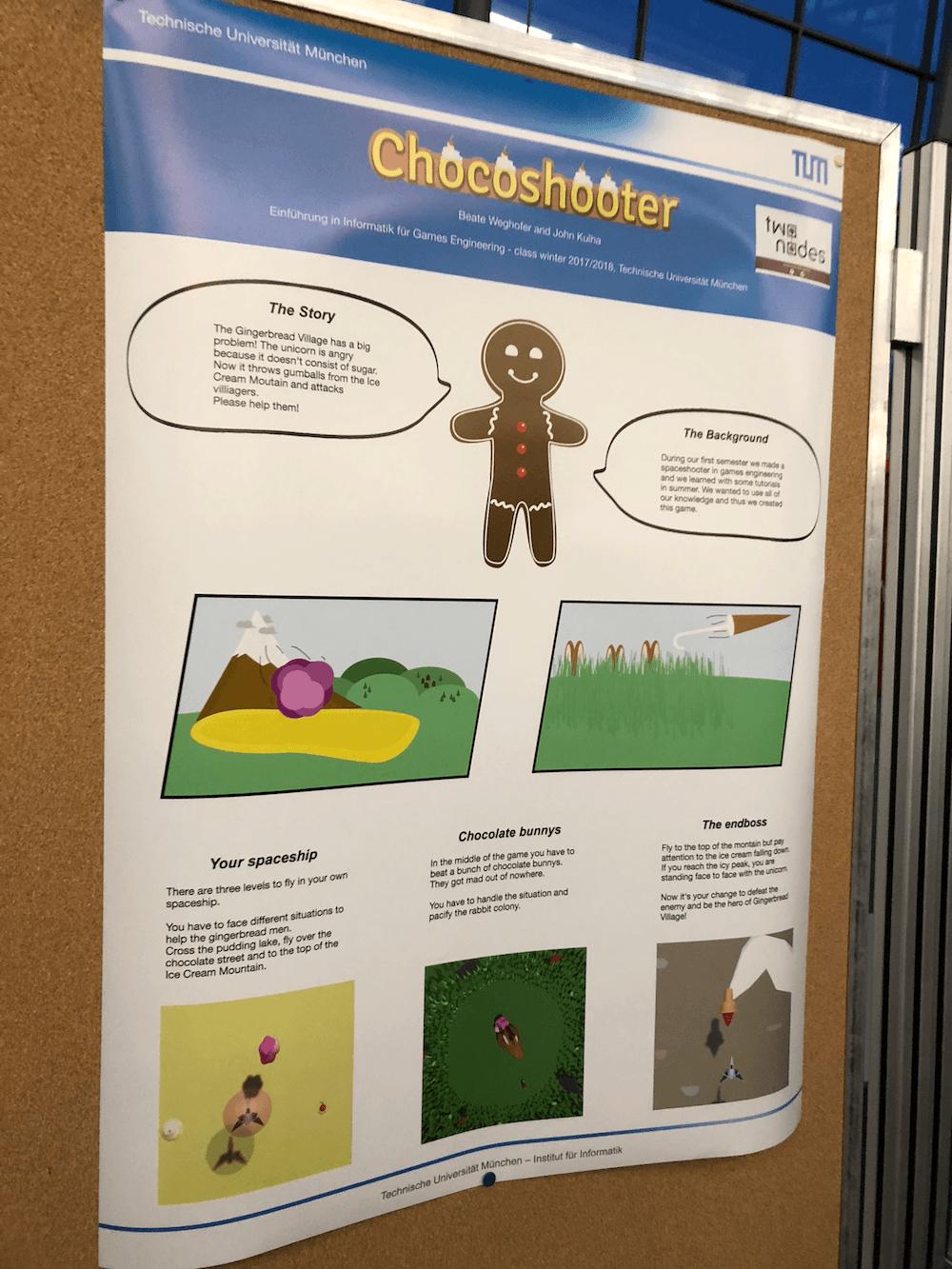 Chocoshooter poster